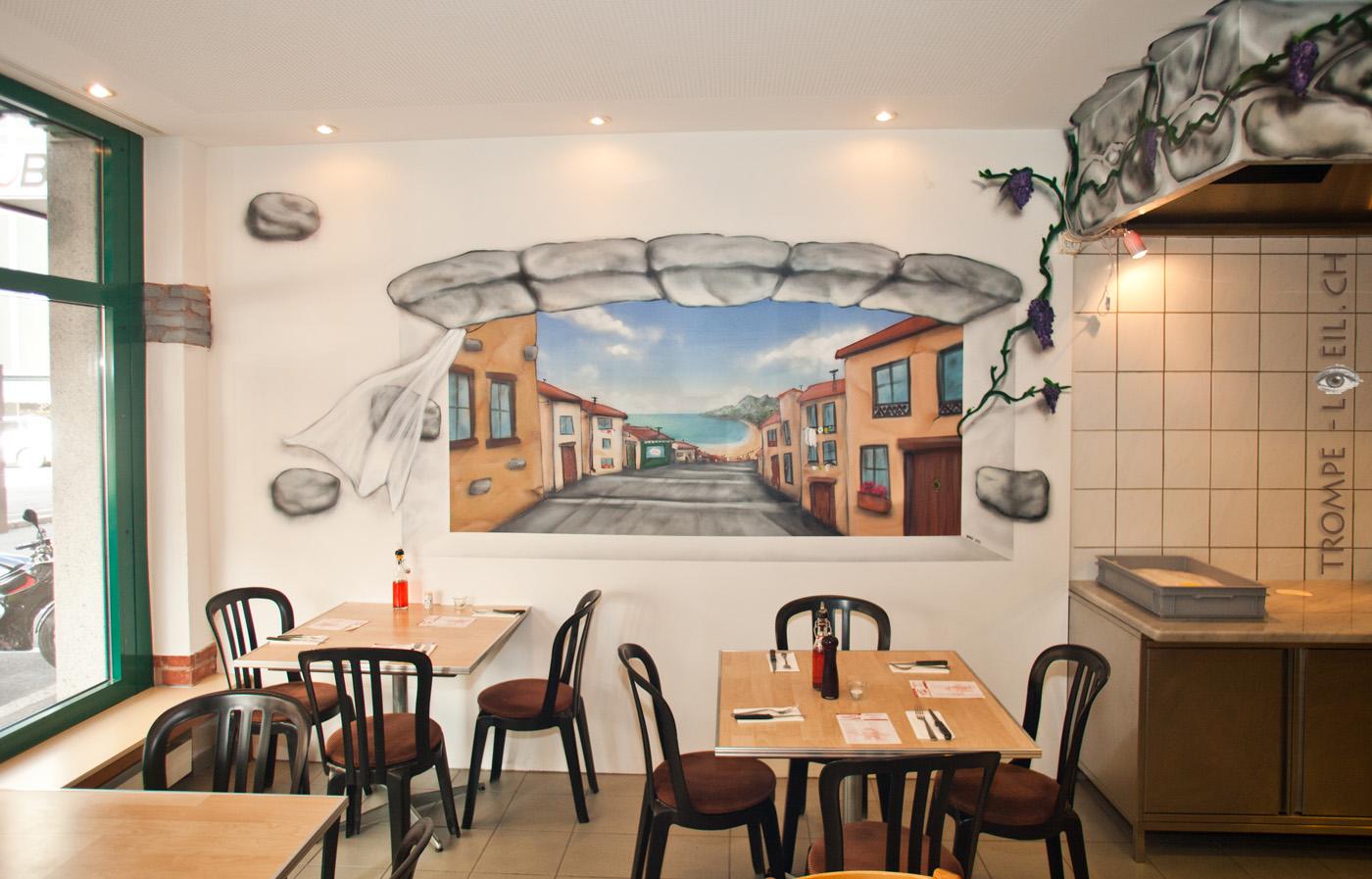 Deco Pizzeria. Interesting Deco Pizzeria Mdia Mixtes Par Oscar ...